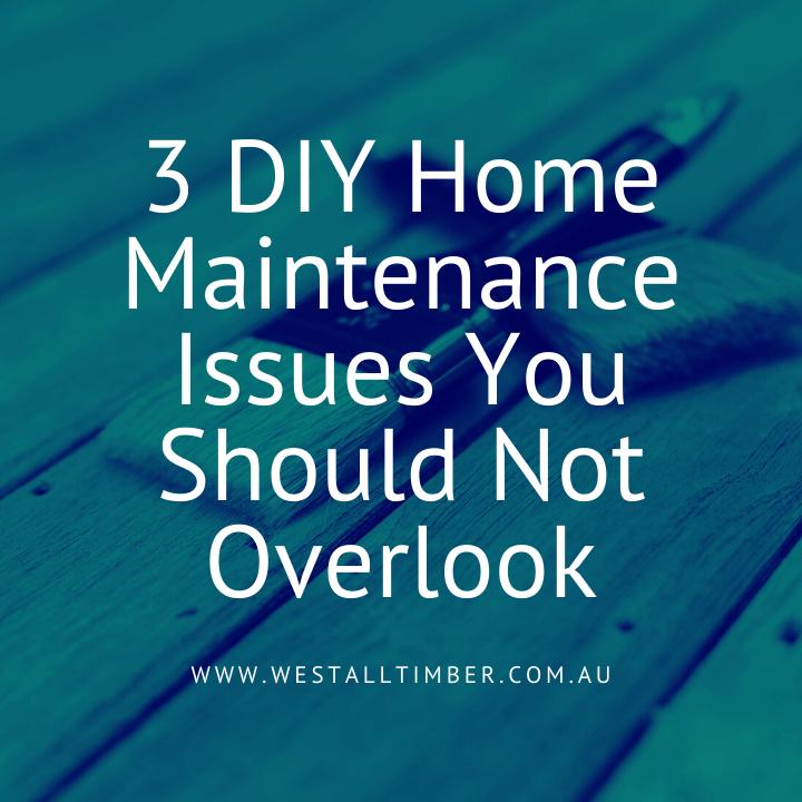 DIY Home Maintenance